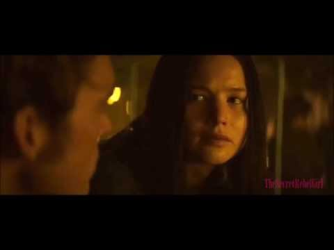 Mockingjay - Katniss talking to Finnick