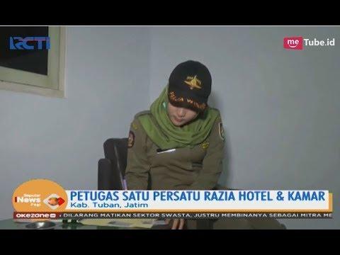 Satpol PP Ini Merazia 8 Pasangan Mesum Di Sejumlah Hotel Di Tuban - SIP 30/04