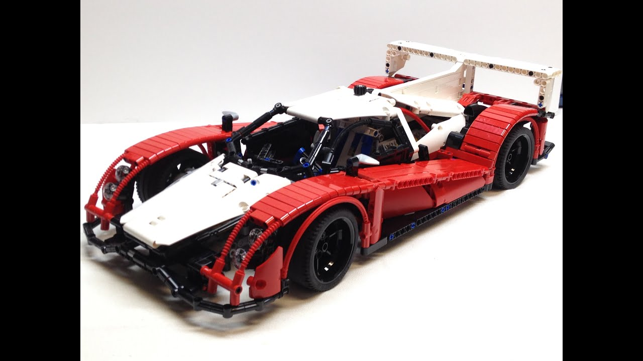 lego technic le mans prototype 1 race car review designed by nico71 youtube. Black Bedroom Furniture Sets. Home Design Ideas