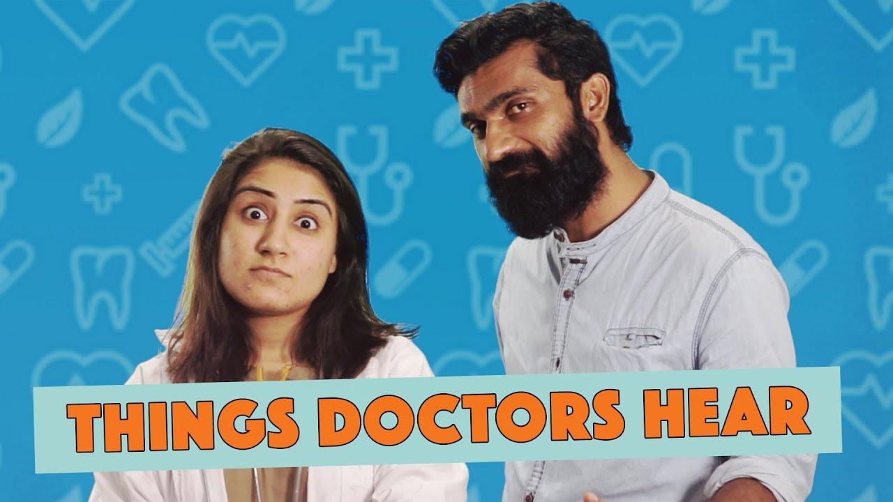 Things Doctors Hear | MangoBaaz