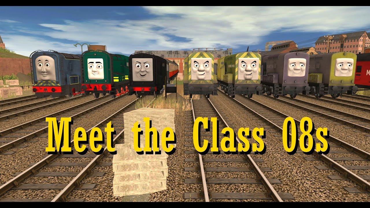 Meet The Class 08s (Trainz Short)