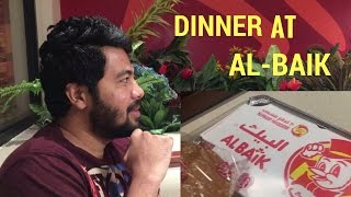 Dinner at ALBAIK | Saudi arabia Fast Food