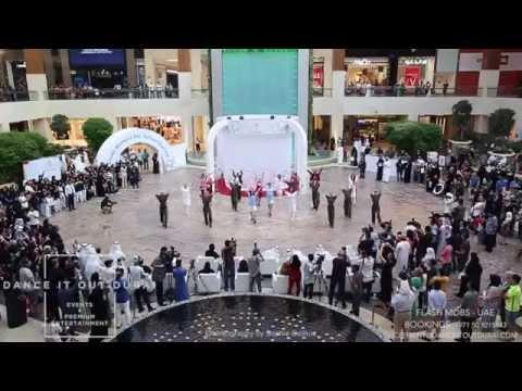 """DANCE IT OUT DUBAI Events & Entertainment"" - FLASH MOB ABU DHABI - YAS MALL"