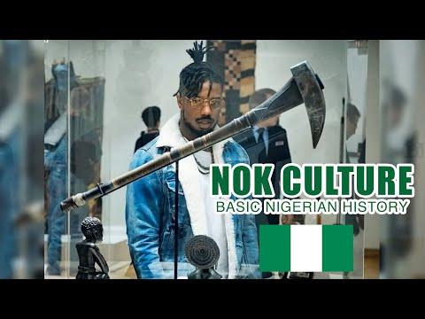 Nok Culture: BASIC NIGERIAN HISTORY #1.1