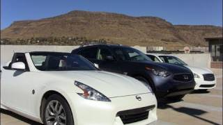 2010 Infiniti M37 & FX35 & Nissan 370 Z engine review