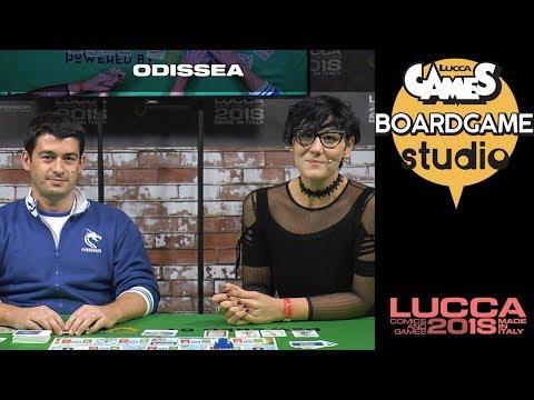 [Lucca Comics & Games] Boardgame Studio: Odissea