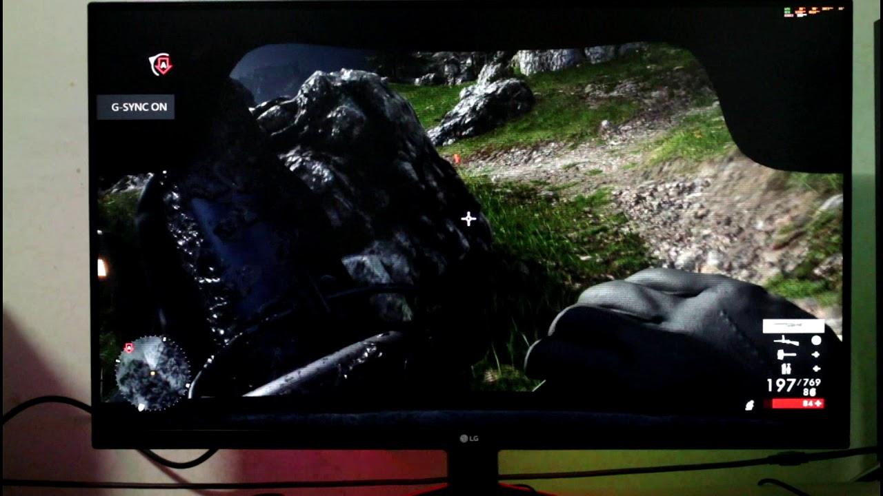 LG 32GK850G - Battlefield 1