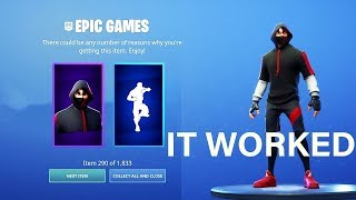 how to get the FREE SKIN IKONIK on Fortnite (Season 9)
