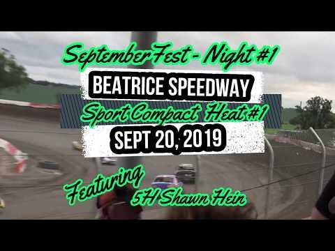 09/20/2019 Beatrice Speedway SeptemberFest Sport Compact Heat #1