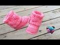 Bottines (Boots) style UGG crochet 2/2 / Boots Ugg style crochet (english subtitles)