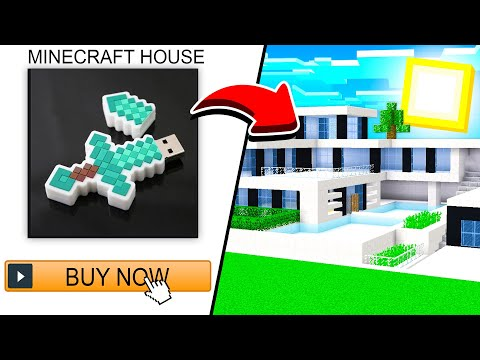 Buying 5 CRAZY Minecraft Houses From AMAZON!