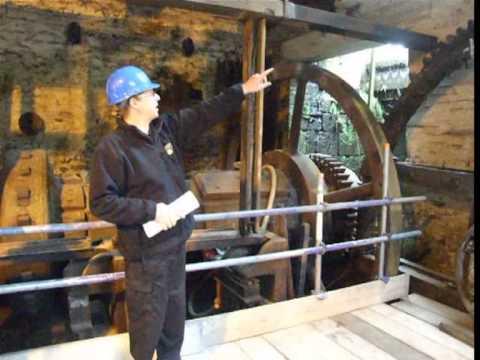 Hard hat tour of Abbeydale Hamlet tilt hammer water wheel restoration