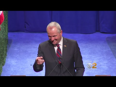 Phil Murphy Sworn In As Governor Of New Jersey