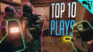 LUCKIEST PLAYS, GREATEST NITRO - Siege Top 10 Plays (Bonus #88)