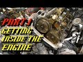 Ford F-150 3.5L Ecoboost Timing Set Replacement Part 1: Getting Inside the Engine