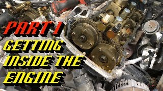 2011-2016 Ford F-150 3.5L Ecoḃoost Timing Set Replacement Part 1: Getting Inside the Engine