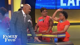 How would you ever COMB it? | Family Feud