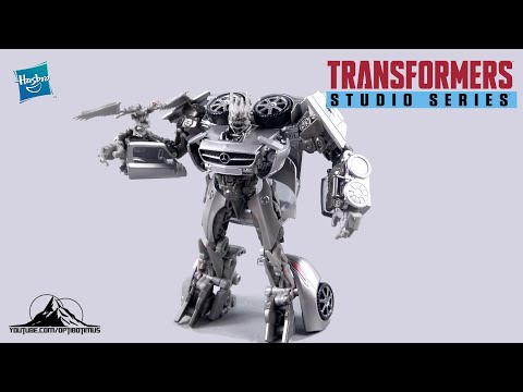 Transformers Studio Series 51 Deluxe Class SOUNDWAVE Video Review