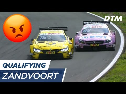 """F**KING IDIOT!"" Timo Glock is not amused - DTM Zandvoort 2017"
