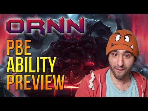 Ornn Ability Preview auf dem PBE [League of Legends] [Deutsch / German]