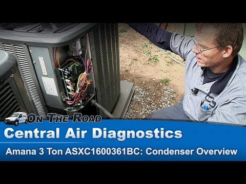 Central Air Condensor Troubleshooting Diagnostic Overview