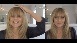 Taylor Swift Fringe / How To Trim Your Bangs/Fringe Thumbnail