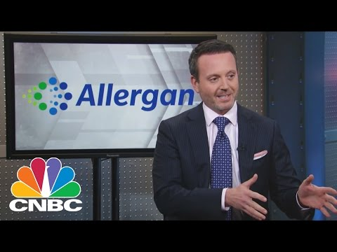 Allergan CEO Brent Saunders: Massive Biotech Transformation | Mad Money | CNBC
