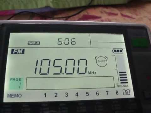 105 MHZ Kuzoo FM Bhutan 100 KM English channel