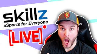 How to Setup a Live Skillz Tournament | Skillz Match Codes | Streamer Program | Live Twitch Stream