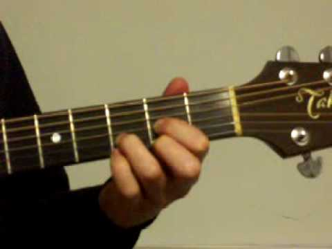 Beginner guitar lesson with 3 easy chords - YouTube