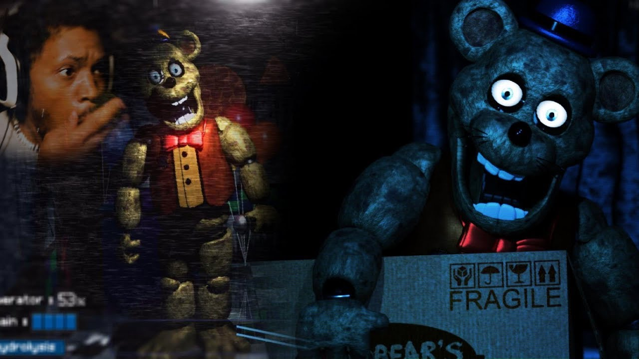 WHAT KIND OF FREDDY IS THIS!? | Fredbear's Fright