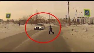 ДТП с пешеходами! Подборка 2016!