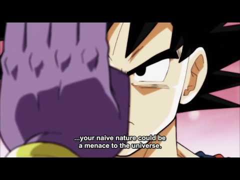 Beerus Threatens To KILL Goku With Beerus theme