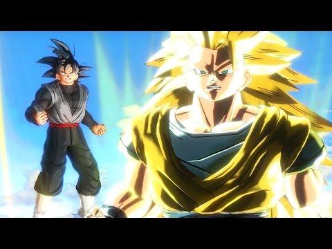 Dragon Ball Xenoverse Full Movie - English All Cutscenes As Goku Black (60FPS)