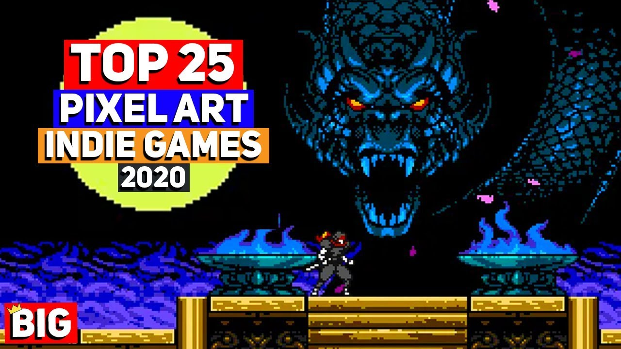 2020 Indie Games.Top 25 Best Pixel Art Games 2020 Beyond