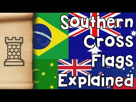 Why do Flags Feature the Southern Cross?