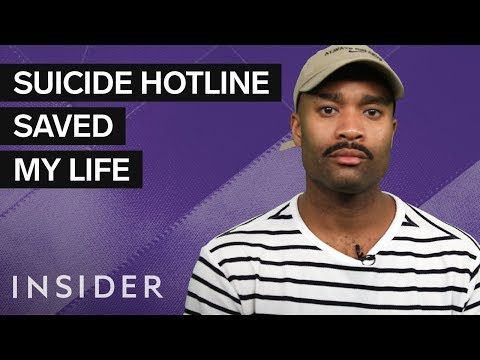 Instead Of Killing Myself, I Called A Suicide Hotline