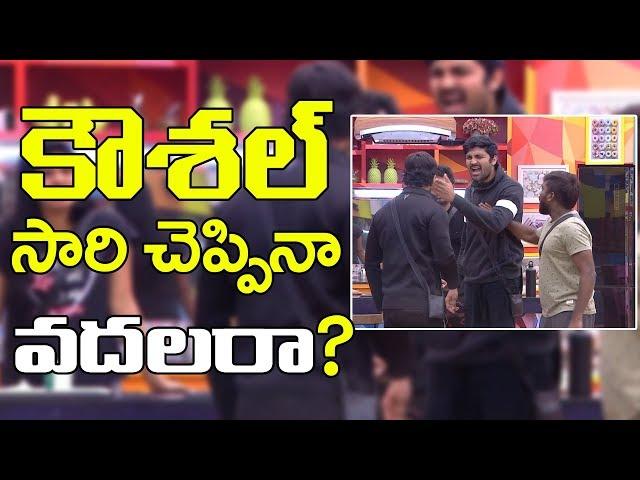 Bigg Boss 2 | kaushal Said sorry To all | కౌశల్ అందరికీ సారీ చెప్పినా వదలరా