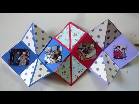 Easy Squash Scrapbook Photo Card Tutorial | How To | CraftLas