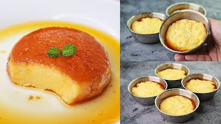 Caramel Bread Pudding In Katori | Eggless & Without Oven | Yummy