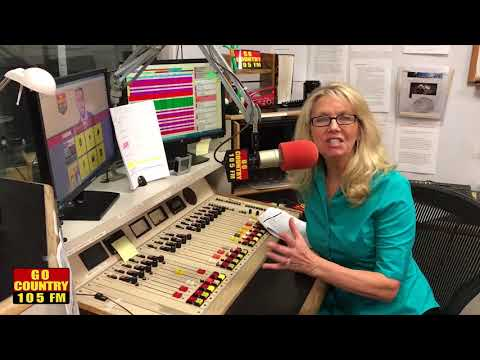 Inside Go Country 105 with Christine Martindale