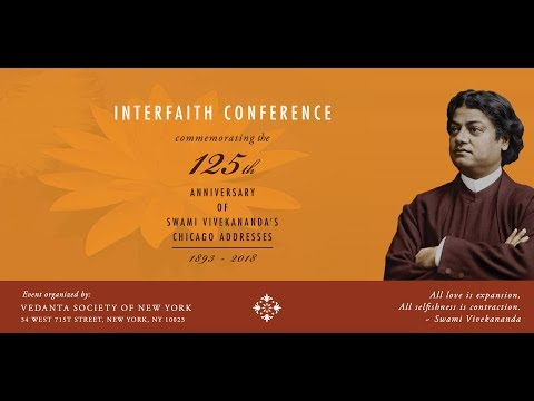 Interfaith Conference Part 1:  Introductions & Panel Speeches