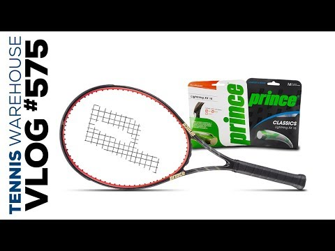 New Luxilon String & Prince Tennis Gear -- VLOG #575