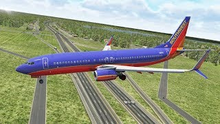 southwest-airlines-b737-max-emergency-landing-at-orlando-airport-after-engine-problems-x-plane-11