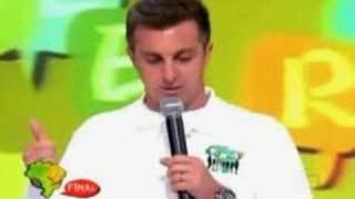 Soletrando 2008: Thafne vs Luciano Huck