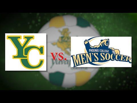 YC Men's Soccer -  Rough Riders vs Phoenix College Bears 08-31-19