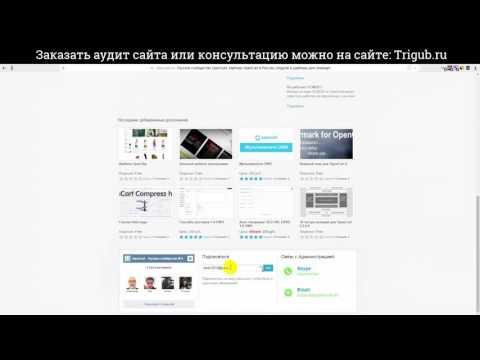 Видео аудит сайта - Ошибки внутренней оптимизации