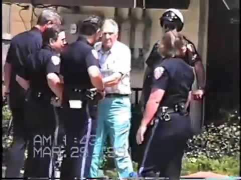 1991 0329 Prolife Rescue At Conscious Lady Abortion Mill Melbourne 2 Of 3 &