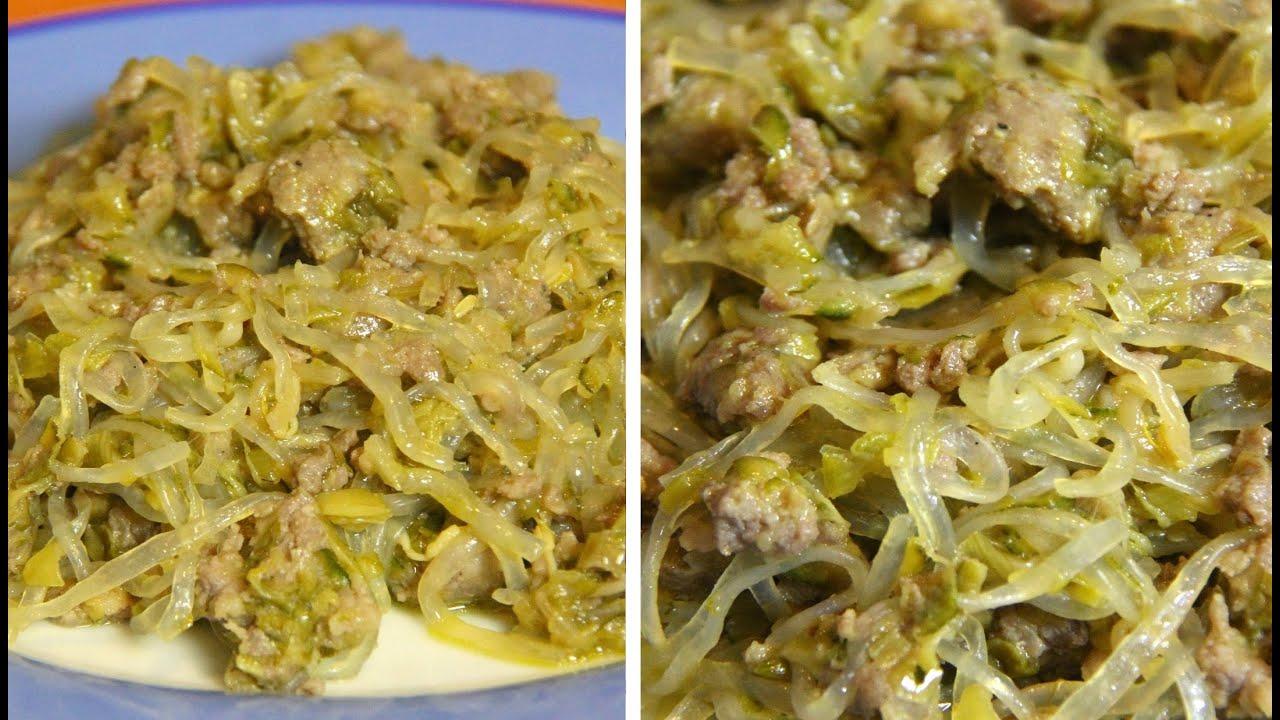Eccezionale SHIRATAKI CON SALSICCIA E VERDURE - Shirataki with sausage and  FS46