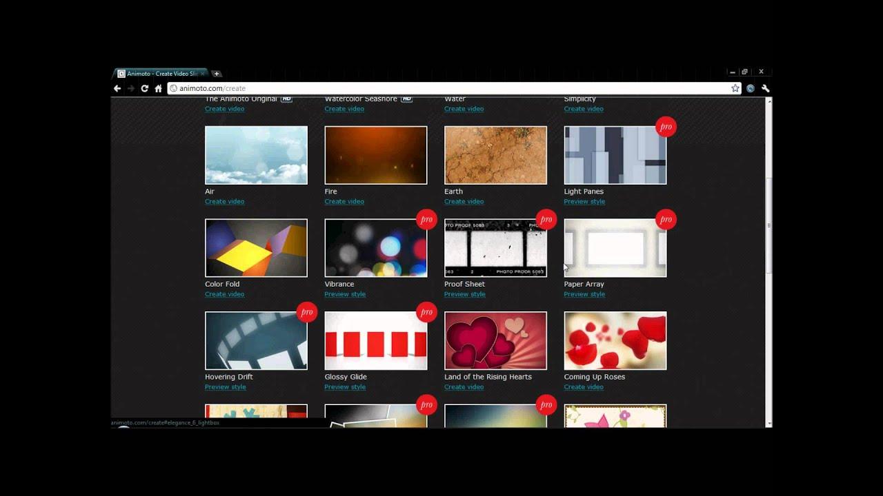 Animoto FREE intro editor/maker HD - YouTube